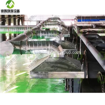 Small Tire Plastic Pyrolysis Oil Process Machine